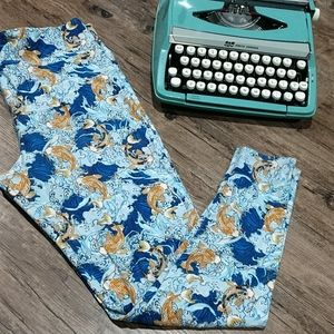 T/C Lularoe Koi Fish Leggings